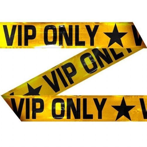 Party Decoration Marking Tape VIP